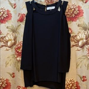Long sleeve dress blouse for a night out
